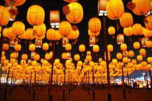 เทศกาลโคมไฟของไต้หวันประจำปี