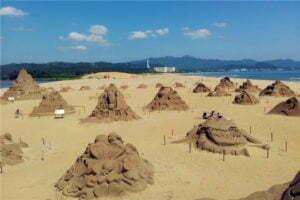 เทศกาลศิลปะประติมากรรมทรายที่ Fulong