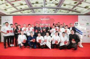 LE PALAIS ได้สามดาวใน Michelin Guide TAIPEI 2018