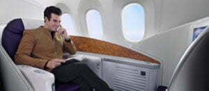 ที่นั่งบนเครื่องบิน และความบันเทิงบนเที่ยวบิน ไชนาเซาเทิร์นแอร์ไลน์