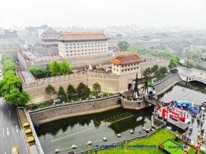 เมืองซีอานของจีนจัดงานวิ่งมาราธอน The Belt and Road Shaanxi Xi'an (Samsung)-2019 City Wall International Marathon