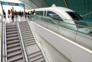 """จีนเผยโฉม """"รถไฟแม็กเลฟ"""" ต้นแบบ วิ่งเร็วทะลุนรก 600 กม./ชม."""