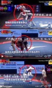 เตะสู้จีนไม่ได้!! เทควอนโดอังกฤษ เดินผลักอย่างเดียว ก็ได้แชมป์โลก