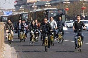 ปักกิ่งเปิดเส้นทางเฉพาะจักรยาน เชื่อมเข้า-ออกชานเมือง