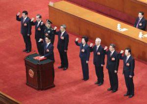 สภานิติบัญญัติจีน รับรองคณะรัฐบาลชุดใหม่